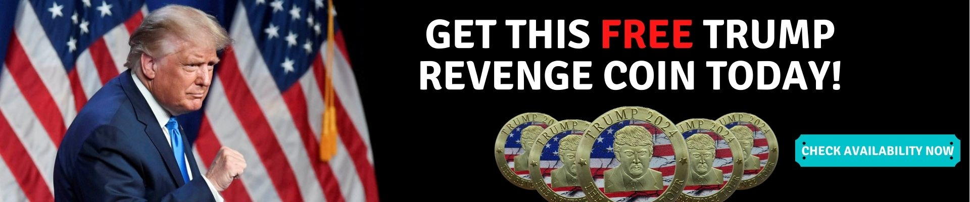 ET THIS FREE TRUMP REVENGE COIN TODAY!